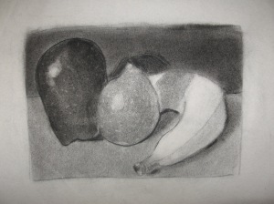 Still Life from an Unstill Charcoal