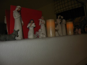 Christmas Mantel 2011