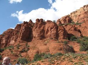 I lift my eyes to the mountains from whence cometh my help. (Sedona, AZ)