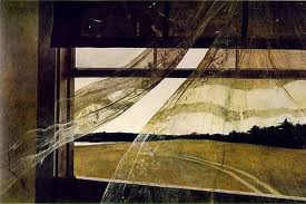 andrew Wyeth: Curtains Blowing